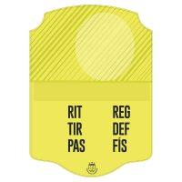 Carta FIFA Amarilla