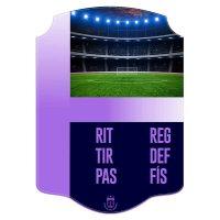 Carta FIFA personalizada estadio