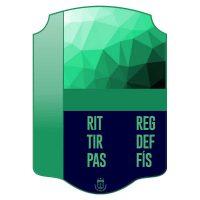 Carta FIFA personalizada leyendas