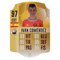 Carta FIFA Personalizada promesas